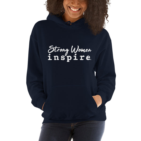 Strong Women inspire® Unisex Hooded Sweatshirt