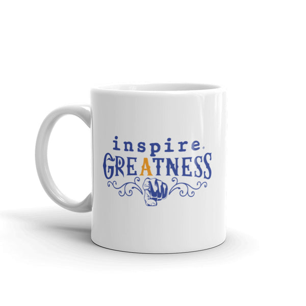 inspire Greatness Inspired By Terrance Burney Coffee Mug