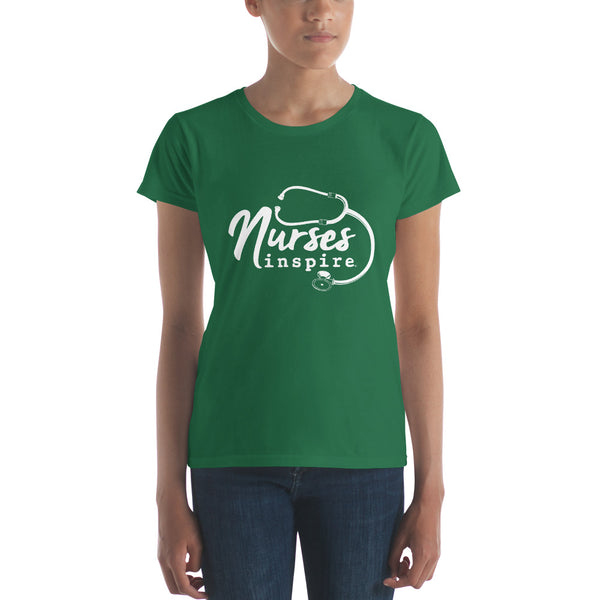 Nurses inspire® Women's short sleeve t-shirt