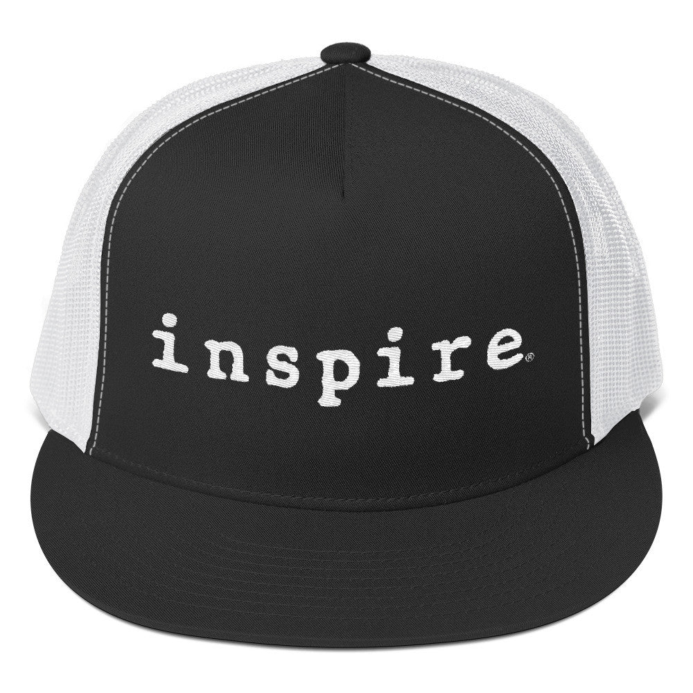 inspire Embroidered Classic Trucker Cap