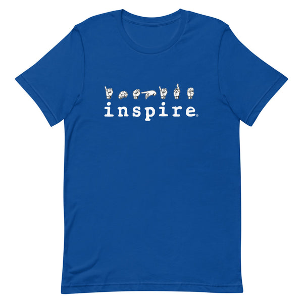 inspire ASL American Sign Language Short-Sleeve Unisex T-Shirt