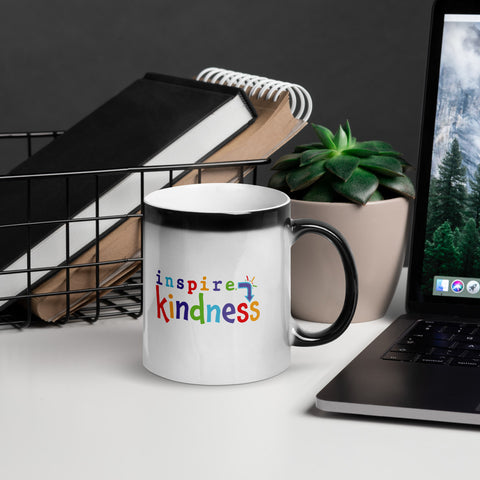 inspire Kindness Glossy Magic Mug