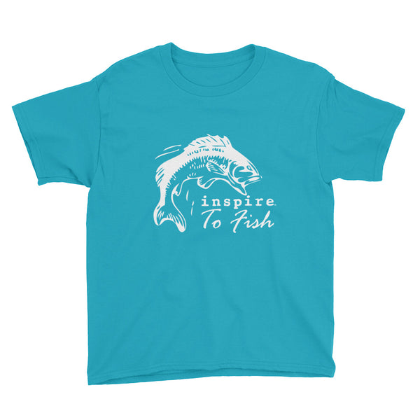 inspire® To Fish Youth Short Sleeve T-Shirt