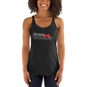 No More Bully Anti-Bullying Women's Racerback Tank