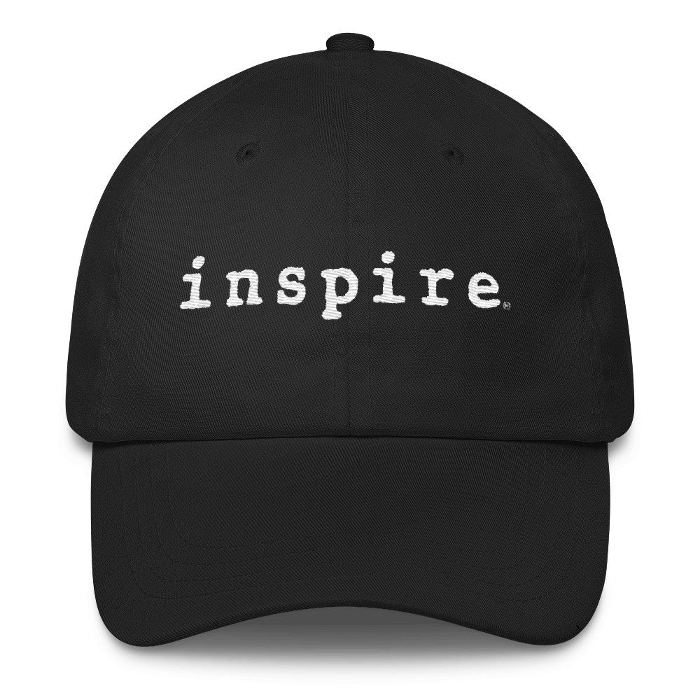 inspire Embroidered Classic Dad Cap in Assorted Colors