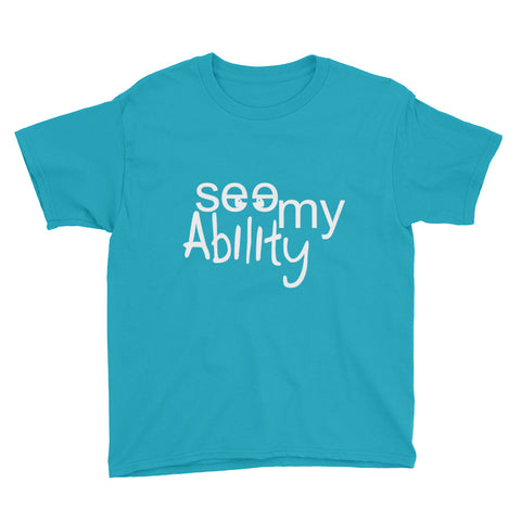 See My Ability Youth Short Sleeve T-Shirt