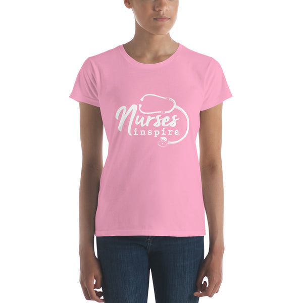 Nurses inspire Women's short sleeve t-shirt