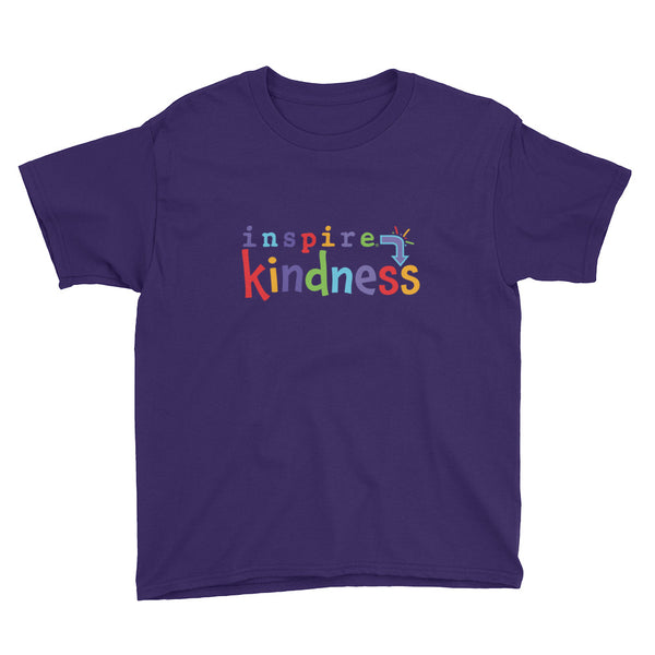 inspire® Kindness Youth Short Sleeve T-Shirt