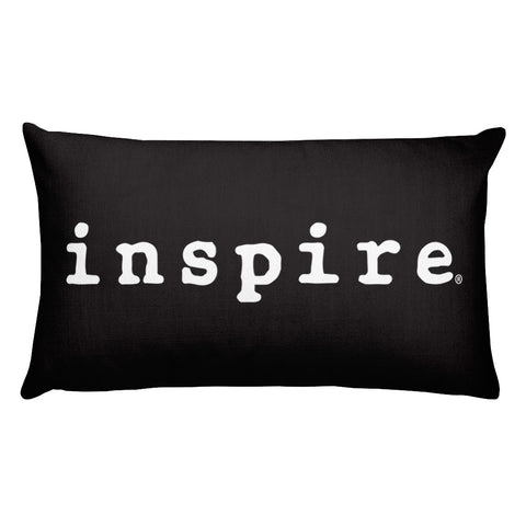 "inspire 20"" x 12"" Rectangular Pillow"