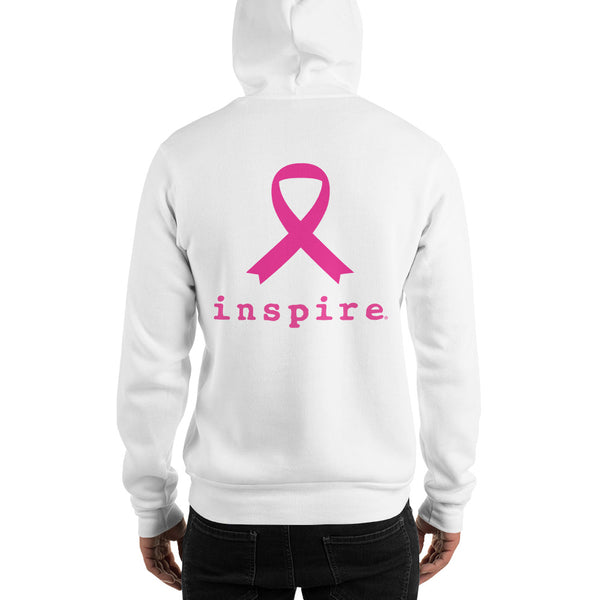 inspire® Thin Blue Line Against Breast Cancer Hooded Sweatshirt