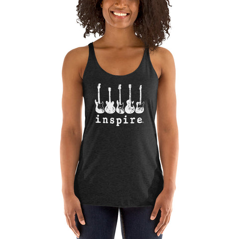 inspire® With Music Women's Racerback Tank