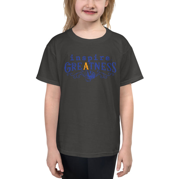inspire Greatness Inspired By Terrance Burney Youth Short Sleeve T-Shirt