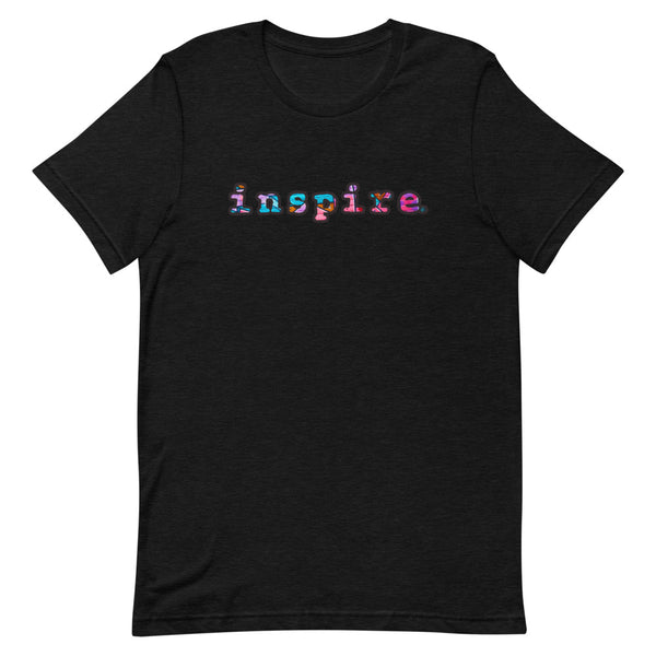 inspire Graffiti Style Graphic Short-Sleeve Unisex T-Shirt