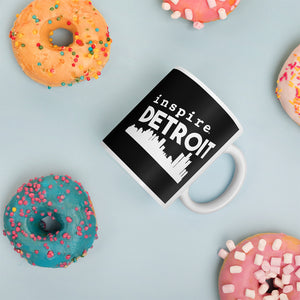inspire Detroit Coffee Cup Mug
