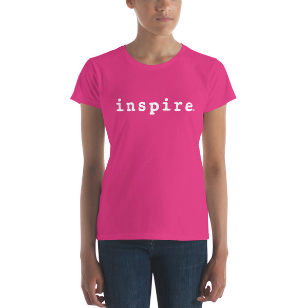 inspire® Ladies Short Sleeve T-shirt