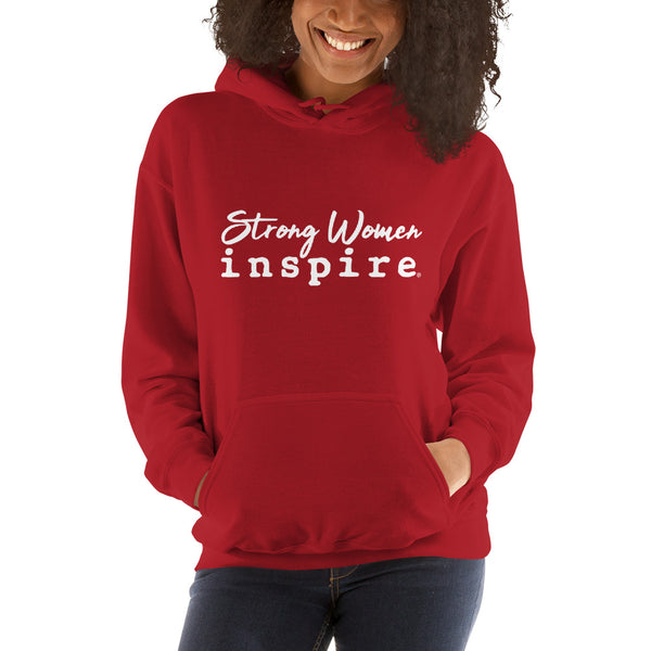 Strong Women inspire Unisex Hooded Sweatshirt
