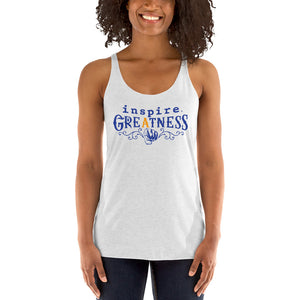 inspire Greatness Inspired By Terrance Burney Women's Racerback Tank