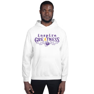 inspire Greatness Inspired By Terrance Burney Champions Edition Unisex Hoodie