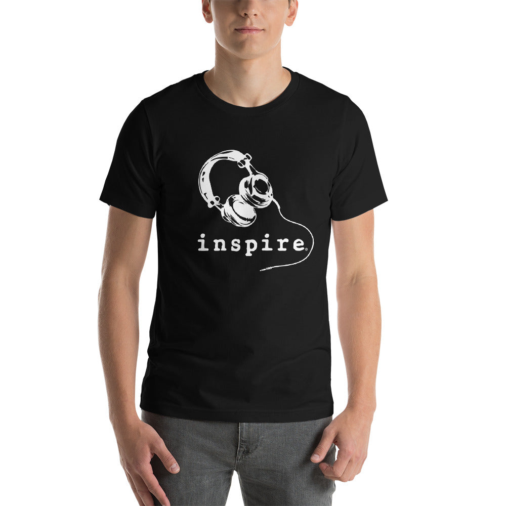 inspire® Headphones Short-Sleeve Unisex T-Shirt