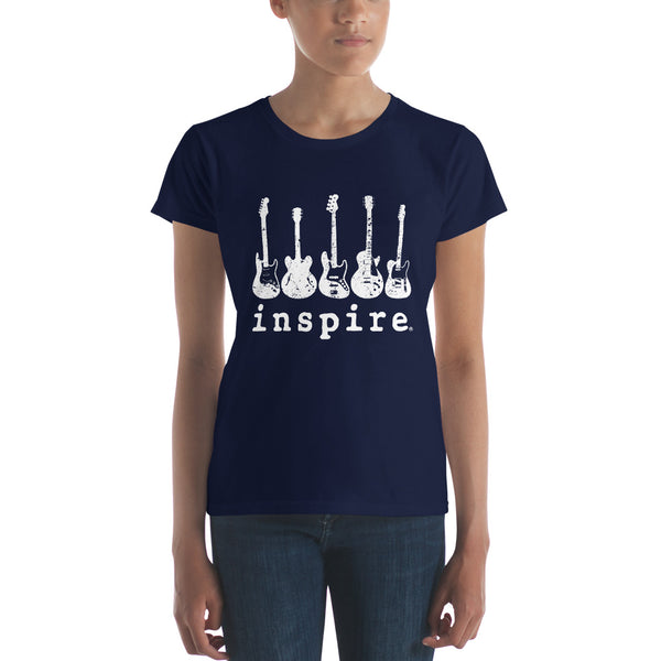 inspire guitar Women's short sleeve t-shirt