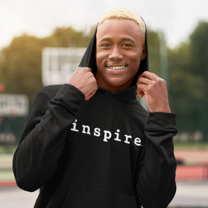 inspire Hooded Unisex Sweatshirt