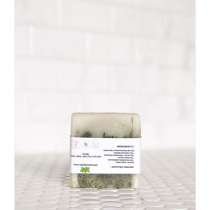 Organic Cleansing Soap Bar : Cooling Mint