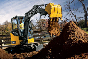John Deere Mini Excavator Light Construction Equipment