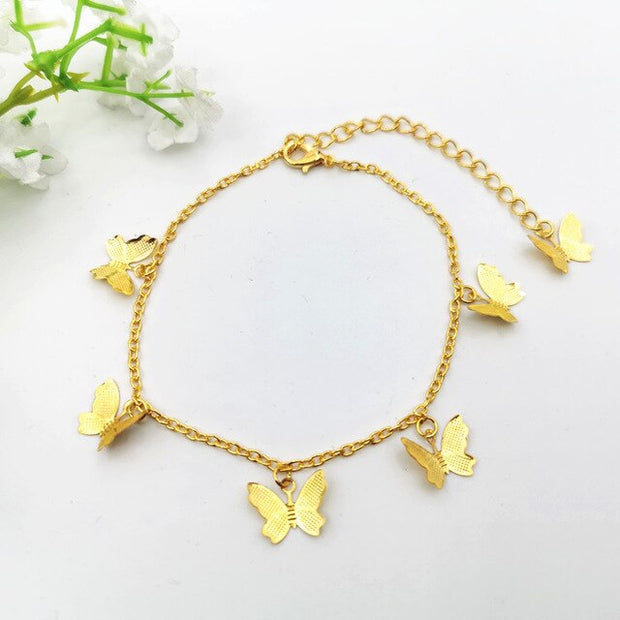 Avenue Butterfly Anklet-Avenue