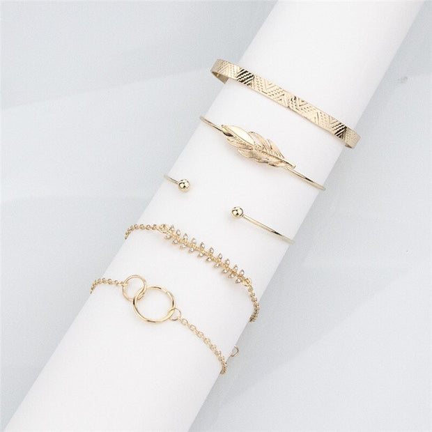 Set of 5 Avenue Boho Bracelets-Avenue