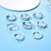 Avenue Summer Toe Ring Set-Avenue