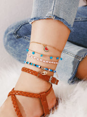 Avenue Rare Charms Anklet Set-Avenue