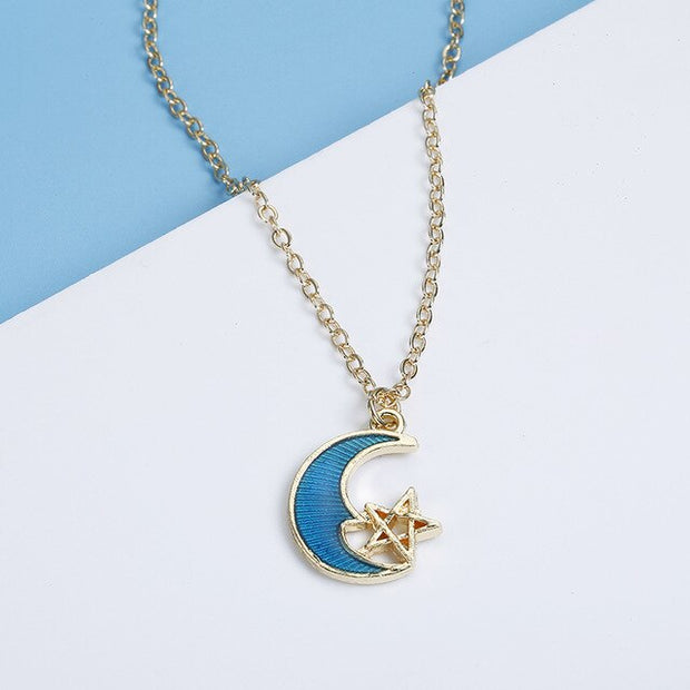 Avenue Asymmetric Galaxy Necklace-Avenue