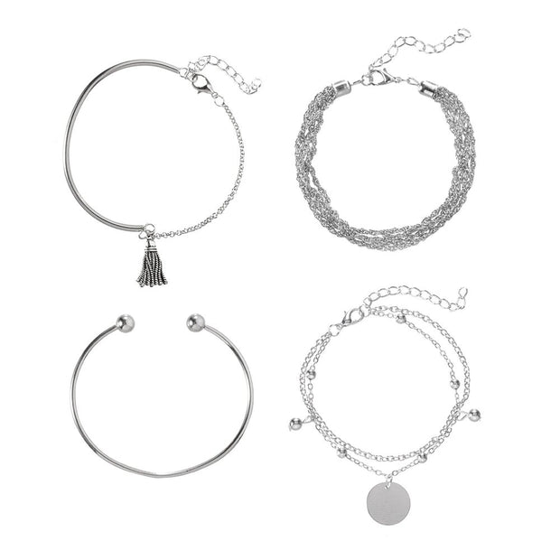 SET of 4 Avenue Minimalist Bracelets-Avenue