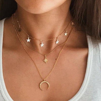 Avenue Starry-Dream Necklace Set-Avenue