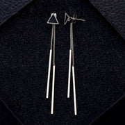 Avenue Triangle Drop Earrings-Avenue