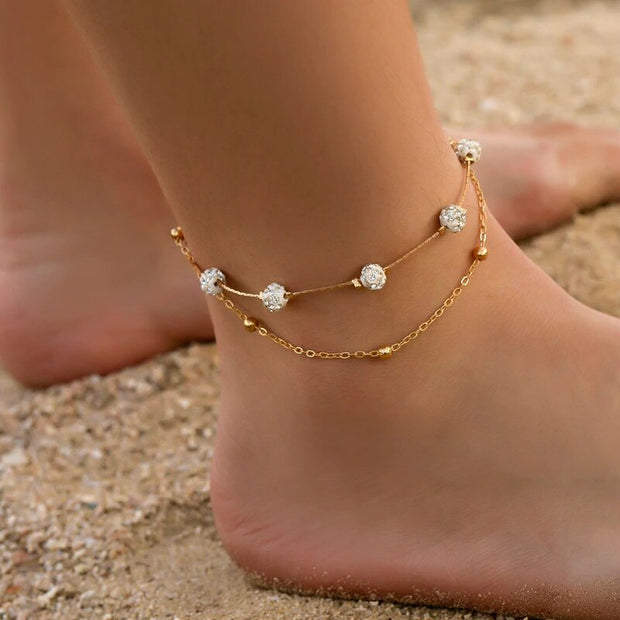 Avenue Dashing Anklet Set-Avenue