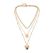 Avenue Infinite Gold Necklace-Avenue