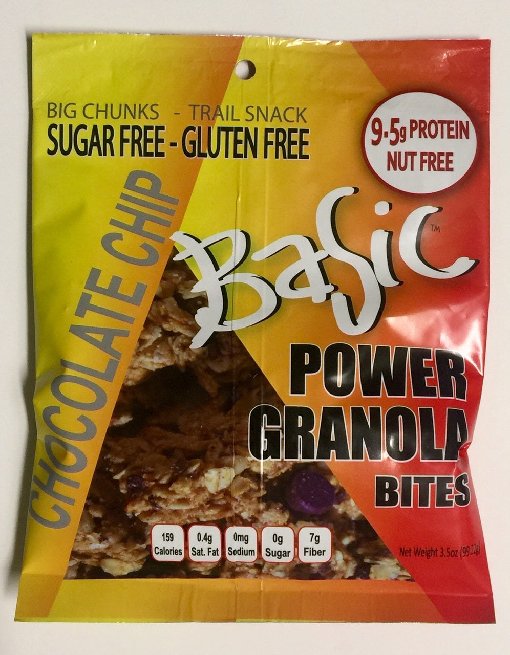Basic Power Granola Snack - Chocolate Chip - $1.49/Unit