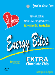 Energy Bites - Extra Chocolate Chip - Plant-Based - $1.59/Unit