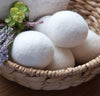100% Wool Dryer Balls - 6 pack Organic New Zealand Wool dryer balls for your laundry. They shorten drying time and better care for your clothes. Dryer balls can be used with essential oils for fresh-smelling laundry.