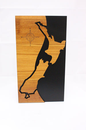 New Zealand Rimu Wall Art