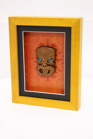 Carved Wheku Frame