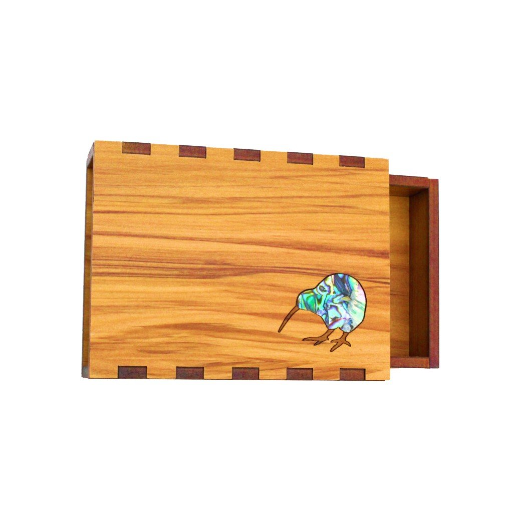 Paua Kiwi Business Card Box