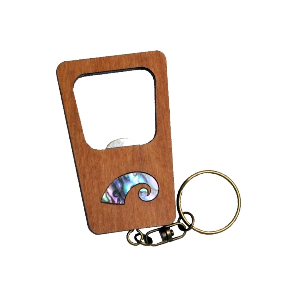 Koru Keychain Bottle Opener