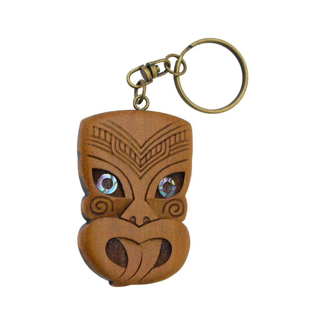 Carved Wheku Keychain