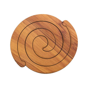 Scroll Rimu Coaster Set