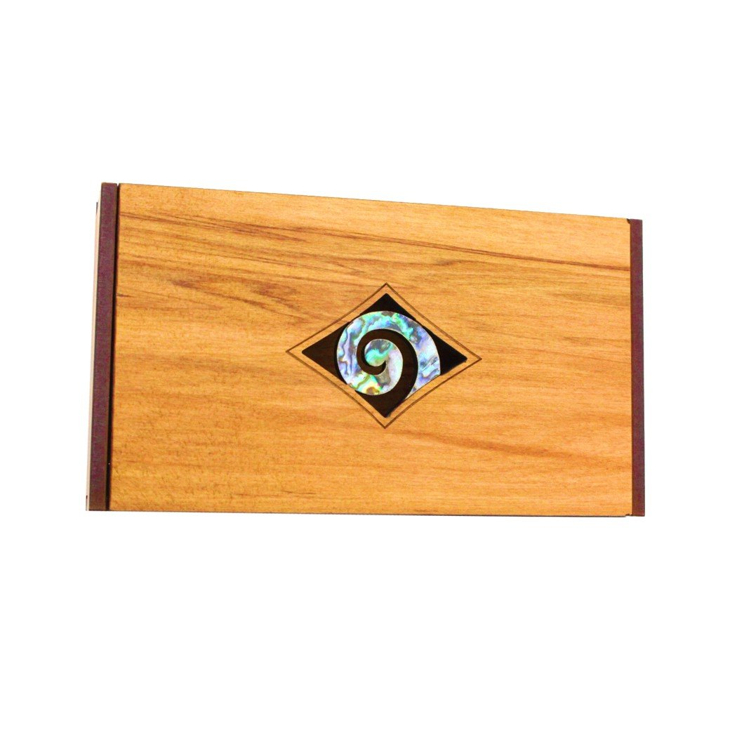 Paua Koru Trinket Box