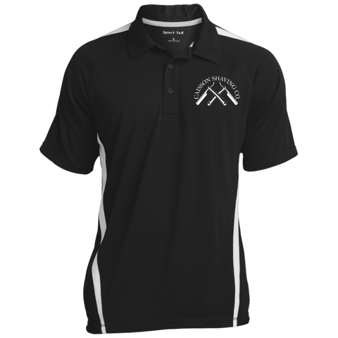 Men's Colorblock 3-Button Polo