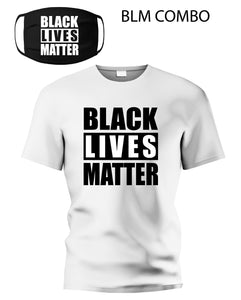 BLM Mask & Shirt Combo