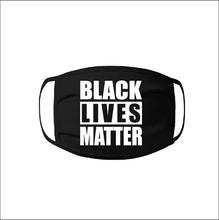 "Load image into Gallery viewer, ""BLM"" Face Mask - 100% Cotton 3 Layer / Washable"